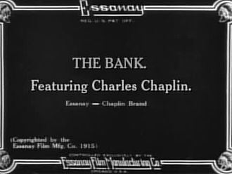 The Bank (1915 film) The Bank 1915 film Wikipedia