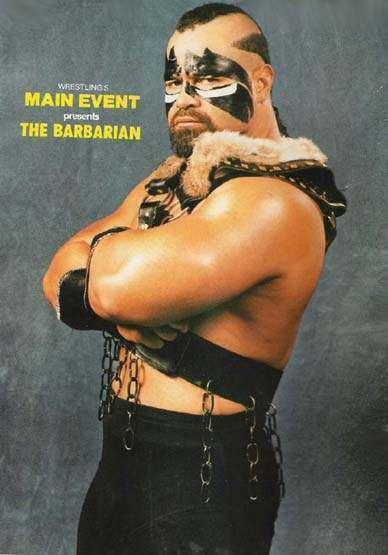 The Barbarian (wrestler) barbarian tribute