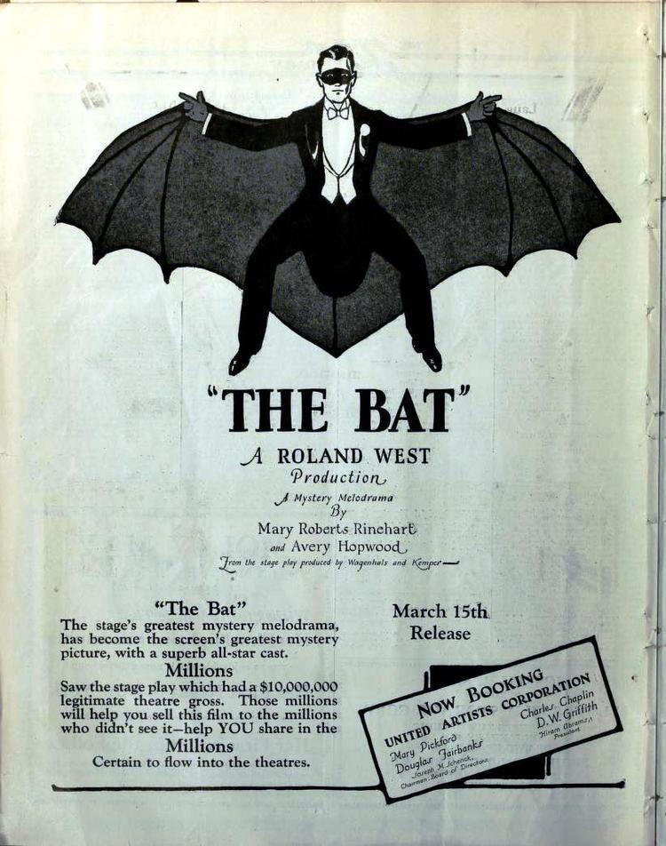 The Bat (1926 film) Noblemania The Bat 1926