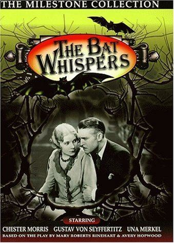 The Bat Whispers Amazoncom The Bat Whispers Chance Ward Richard Tucker Wilson