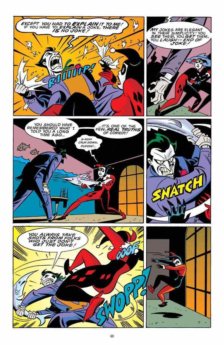 harley quinn batman comic online www
