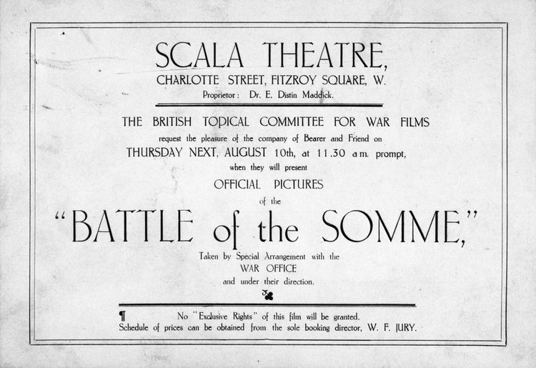 The Battle of the Somme (film) IWM focus on historic Somme film for 2016 Centenary