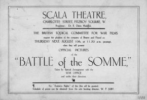 The Battle of the Somme (film) The Battle of the Somme film International Encyclopedia of the