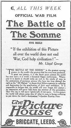 The Battle of the Somme (film) httpsuploadwikimediaorgwikipediacommons55