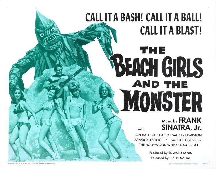 The Beach Girls and the Monster The Beach Girls and the Monster AKA Monster From the Surf 1965