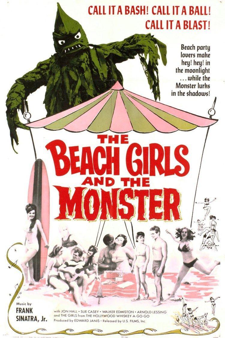 The Beach Girls and the Monster wwwgstaticcomtvthumbmovieposters50341p50341