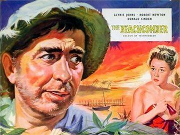 The Beachcomber (film) movie poster