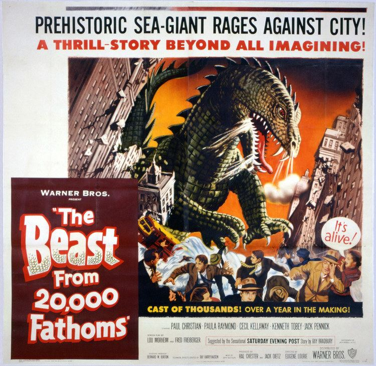 The Beast from 20,000 Fathoms Daily Grindhouse DINOSAUR WEEK THE BEAST FROM 20000 FATHOMS