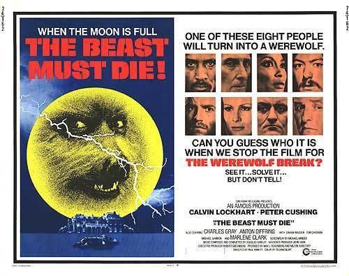 The Beast Must Die (1974 film) Beast Must Die movie posters at movie poster warehouse moviepostercom