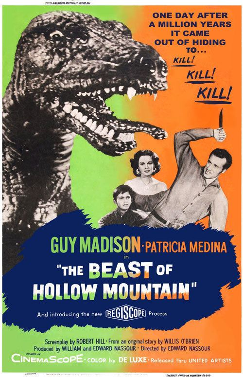 The Beast of Hollow Mountain The Beast of Hollow Mountain 1956 movie poster 9 SciFiMovies