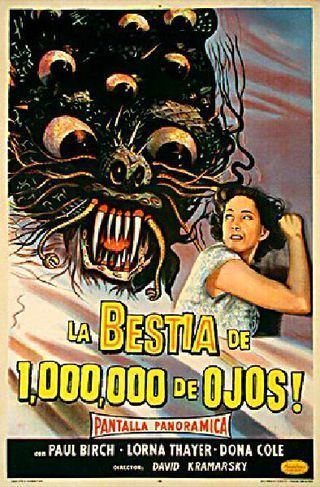 The Beast with a Million Eyes The Beast with a Million Eyes 1955 Posteritati Movie Poster