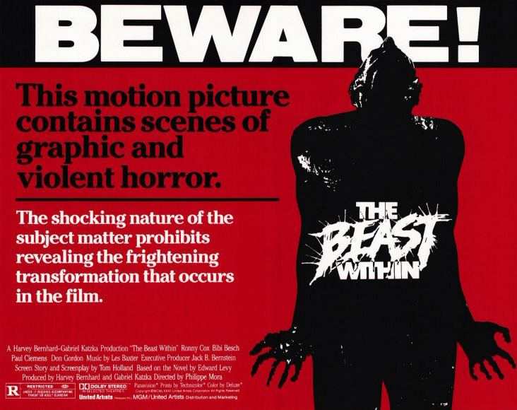 The Beast Within The Beast Within 1982 HORRORPEDIA
