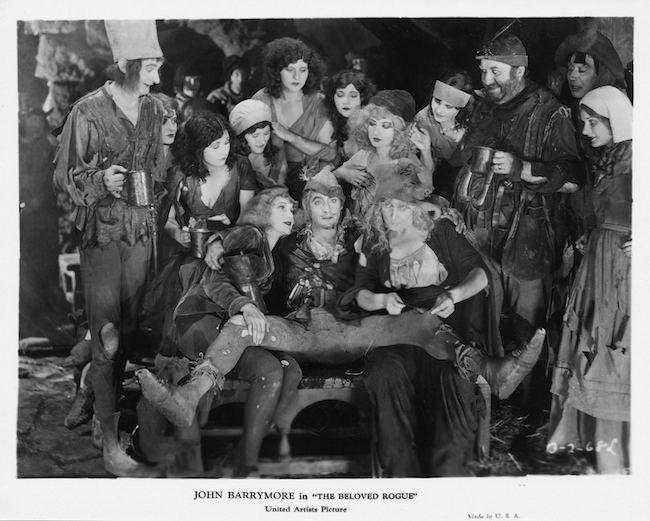 The Beloved Rogue John Barrymore Silent London