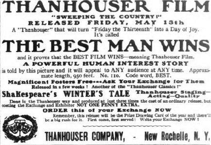 The Best Man Wins (1910 film) The Best Man Wins 1910 film Wikipedia