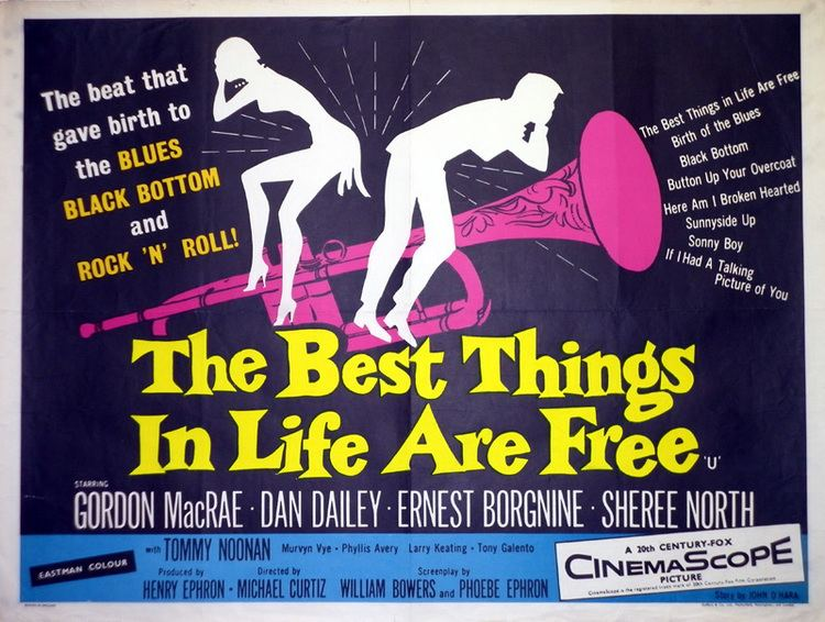 The Best Things in Life Are Free (film) Tom Chantrell Posters The Best Things In Life Are Free Quad Poster