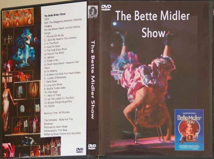 The Bette Midler Show THE BETTE MIDLER SHOW 1976 SPECIAL 2 DVD SET for sale