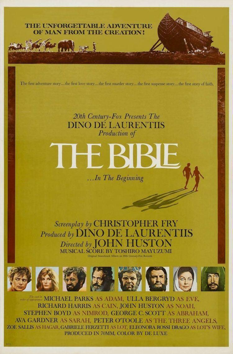 The Bible: In the Beginning... The Bible In the Beginning Wikipedia