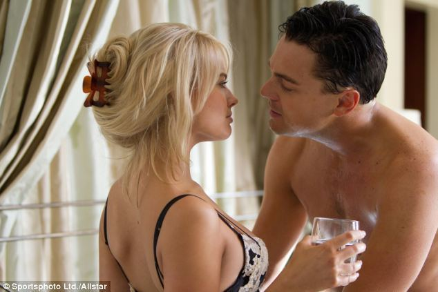 The Big Bad Wolf (film) movie scenes Wolf on the prowl Leonardo DiCaprio and Margot Robbie in a scene from the film