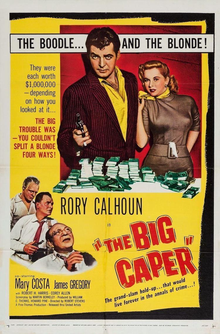 The Big Caper NoirWorthWatching THE BIG CAPER 1957