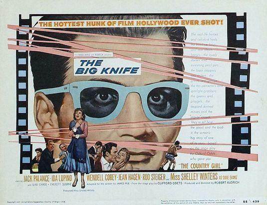 The Big Knife The Big Knife 1955 Bore me deadly filmsnoirnet