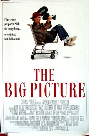 The Big Picture (1989 film) Big Picture The 1989 Kevin Bacon onesheet SS R NM 50