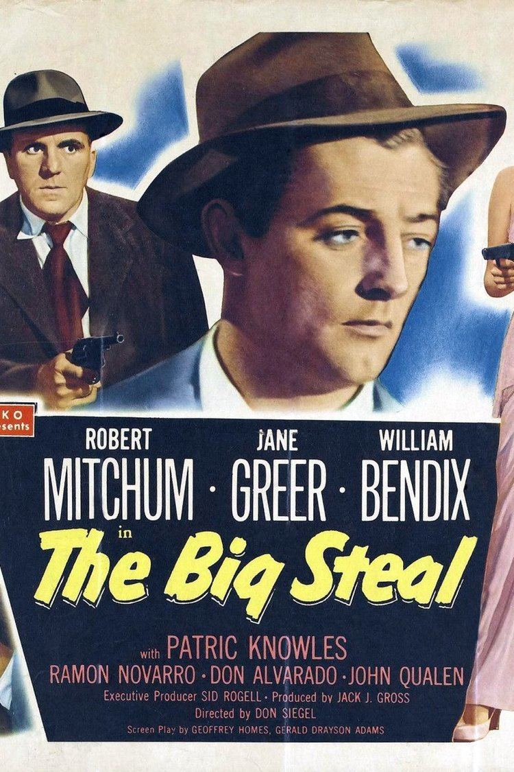 The Big Steal wwwgstaticcomtvthumbmovieposters2390p2390p