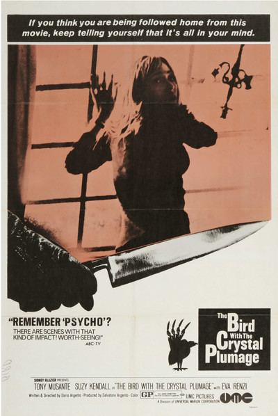 The Bird with the Crystal Plumage Bird with Crystal Plumage Movie Review 1970 Roger Ebert
