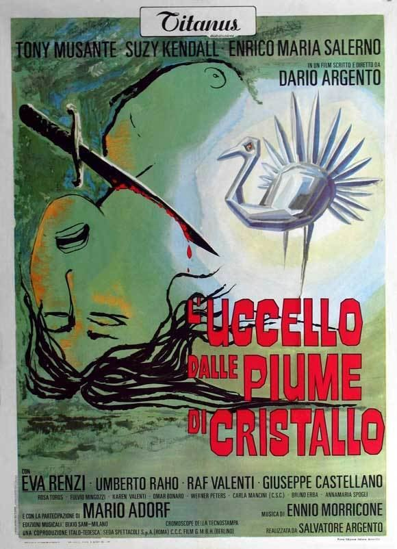 The Bird with the Crystal Plumage The Bird with the Crystal Plumage Movie Posters From Movie Poster Shop