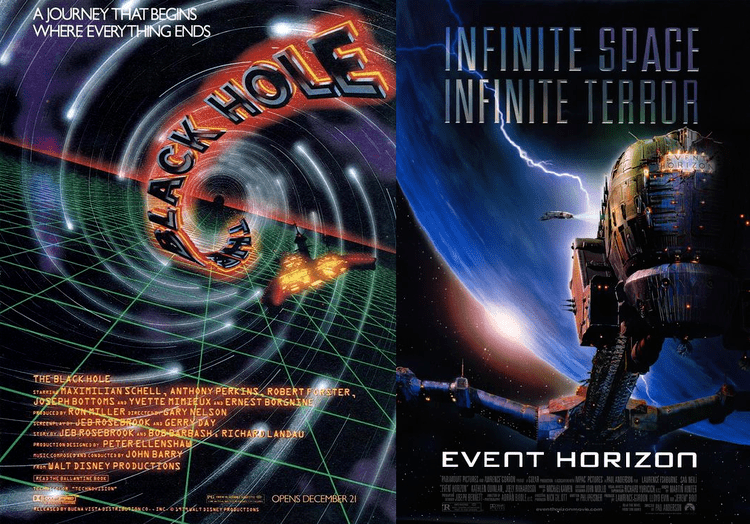The Black Hole movie scenes Disney s The Black Hole and Paul Anderson s Event Horizon don t seem to have much in common Black Hole is classic science fiction with robots and mad