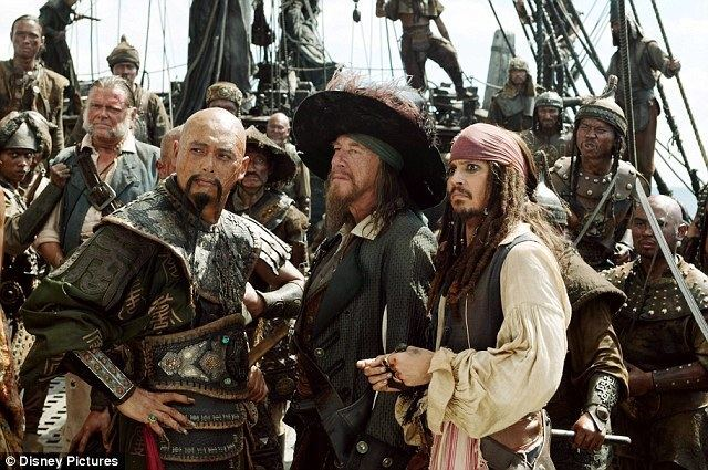 The Black Pirate movie scenes Swashbuckling Johnny Depp filmed many of his scenes in Pirates of the Caribbean as Captain