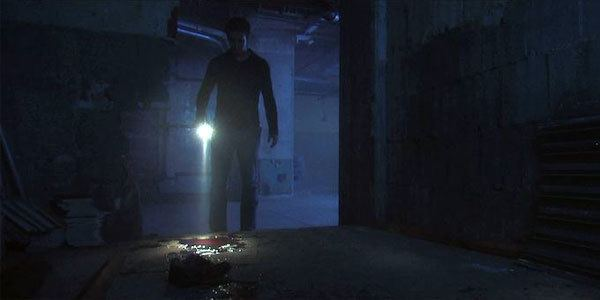 The Blackout (2009 film) movie scenes Speaking of the Pierces the parents send Kyle down to the basement to collect a Christmas present stored there He arrives to find a fissure in the floor