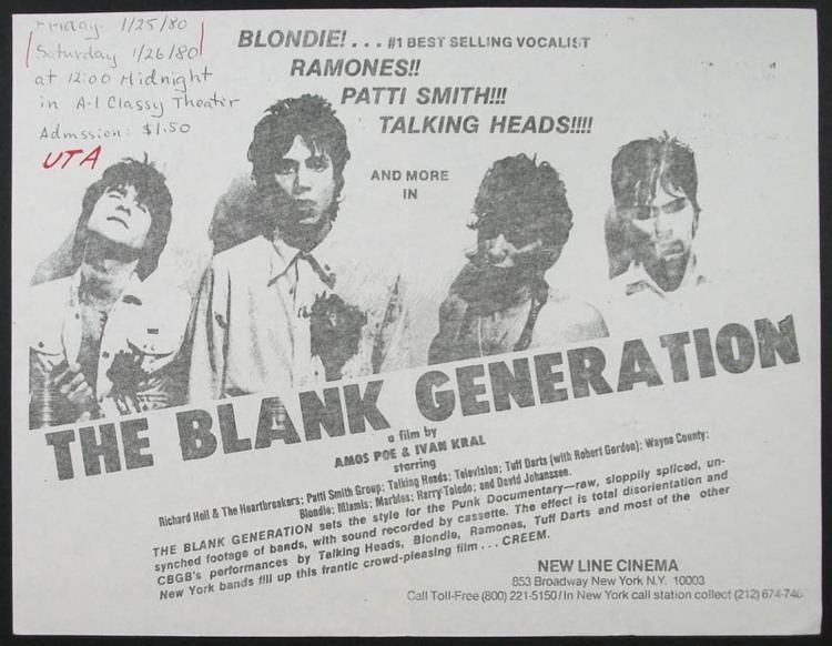 The Blank Generation Philropost THEGENERATION