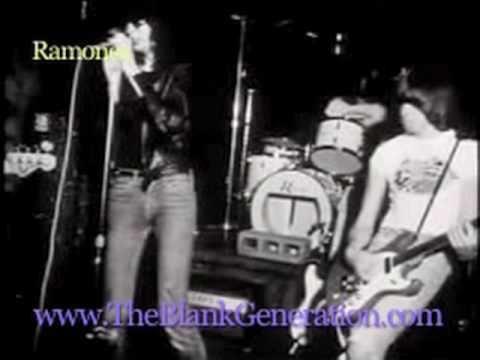 The Blank Generation THE BLANK GENERATION trailer Official NY punk CBGB Ramones