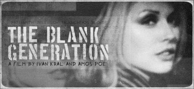 The Blank Generation Thursday Editors Pick The Blank Generation 1976