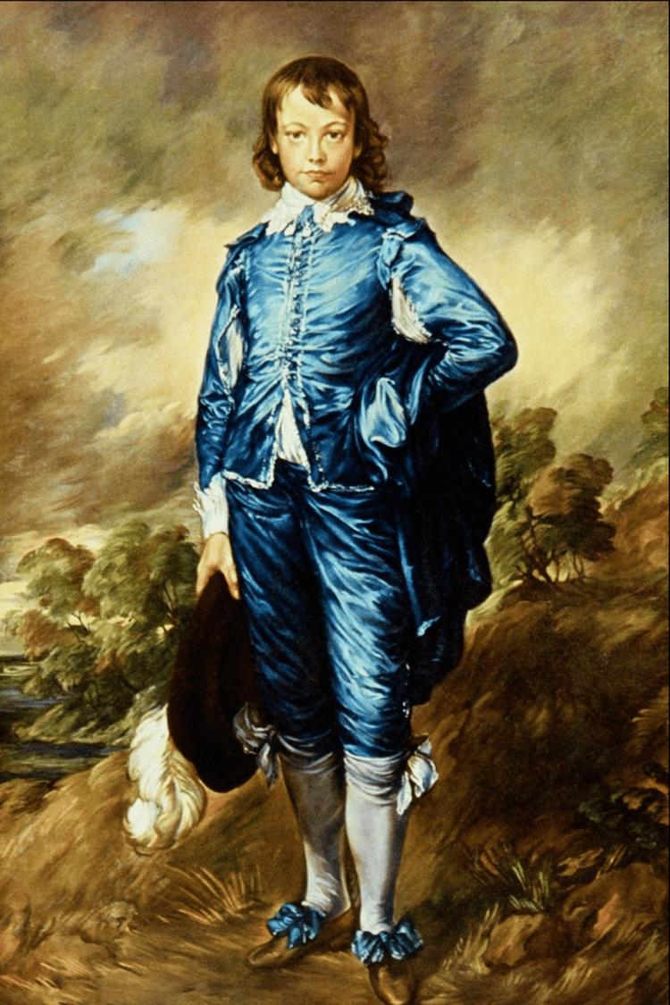 The Blue Boy Realee Blue Boy By Thomas Gainsborough