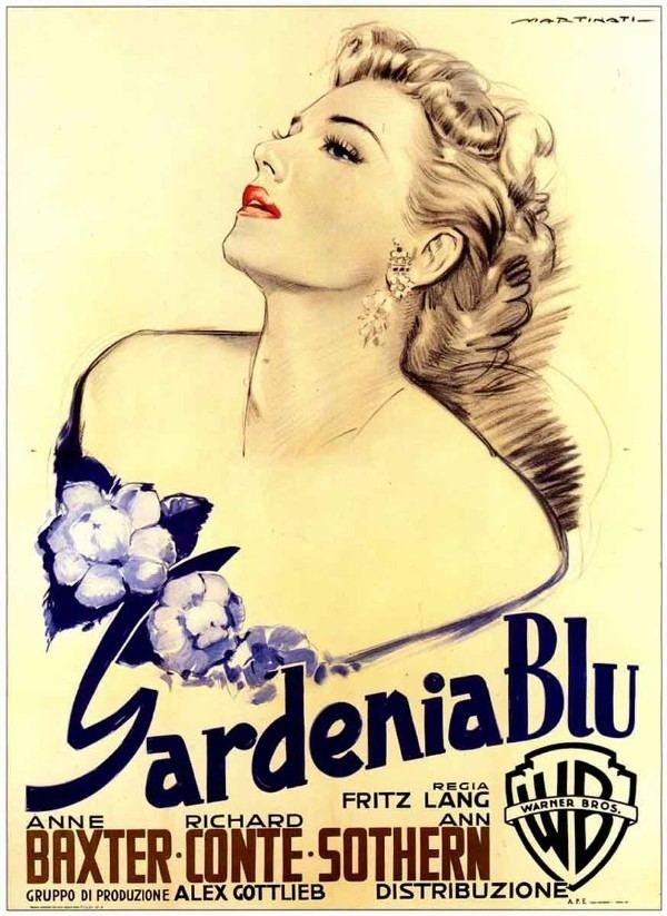 The Blue Gardenia (1953 film) movie poster