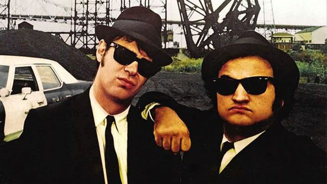 The Blues Brothers BikePowered Blues Brothers Free Film Festivals