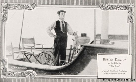 The Boat (film) 2014 Buster Keaton Convention