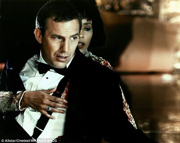 The Bodyguard (1944 film) movie scenes The original Bodyguard Kevin Costner keeping Whitney Houston safe in the 1992 movie version