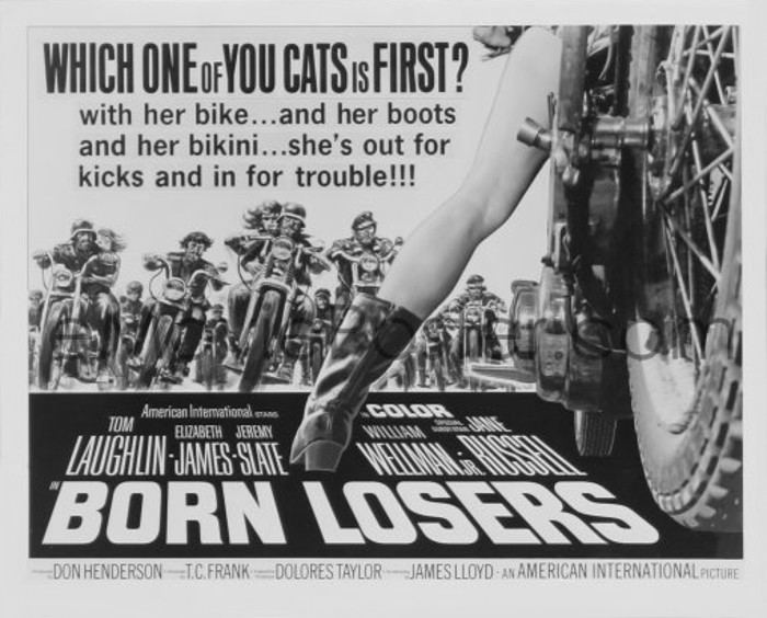 The Born Losers Born Losers cracked rear viewer