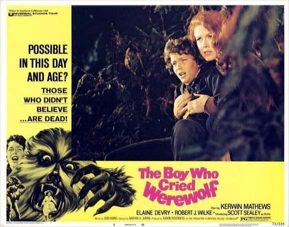 The Boy Who Cried Werewolf (1973 film) Monster Kid Theater THE BOY WHO CRIED WEREWOLF ComingSoonnet
