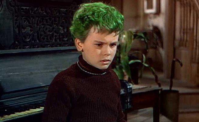The Boy with Green Hair Green Hair Is a Beacon for Peace in Wartime in The Boy With Green