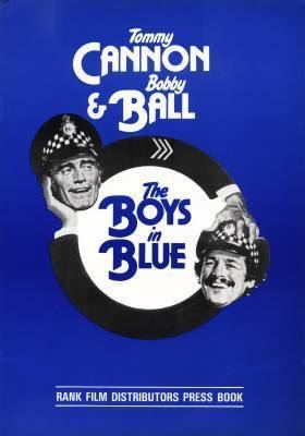 The Boys in Blue Cannon and Ball The Boys in Blue Press Book
