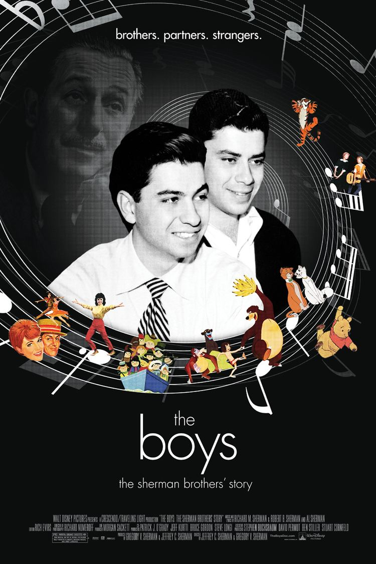 The Boys: The Sherman Brothers' Story wwwgstaticcomtvthumbmovieposters3530673p353