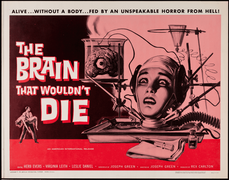 The Brain That Wouldn't Die 31 Nights of Halloween Horror part 10 The Brain That Wouldnt Die