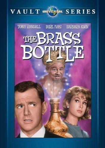 The Brass Bottle (1964 film) DVD REVIEW THE BRASS BOTTLE 1964 STARRING TONY RANDALL BURL