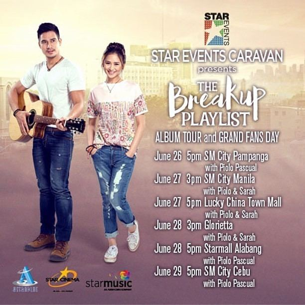 The Breakup Playlist The Breakup Playlist Movie Album Tour and Grand Fans Day Schedule