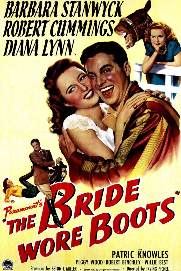 The Bride Wore Boots wwwgstaticcomtvthumbmovieposters42475p42475