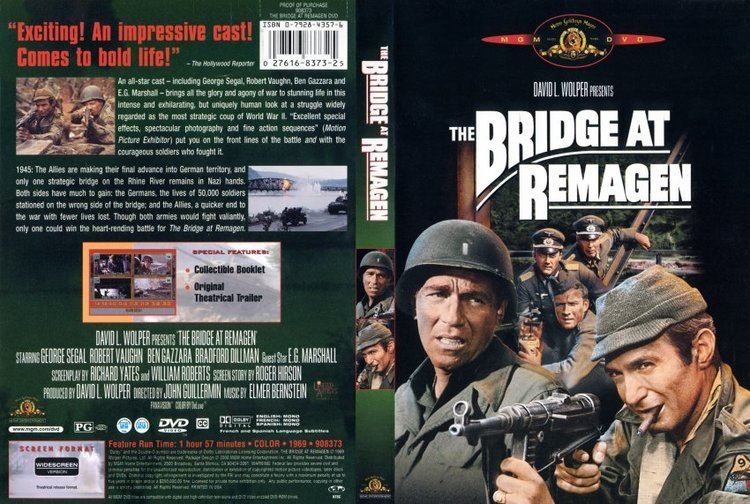 The Bridge at Remagen The Bridge At Remagen Movie DVD Scanned Covers 6Bridge At