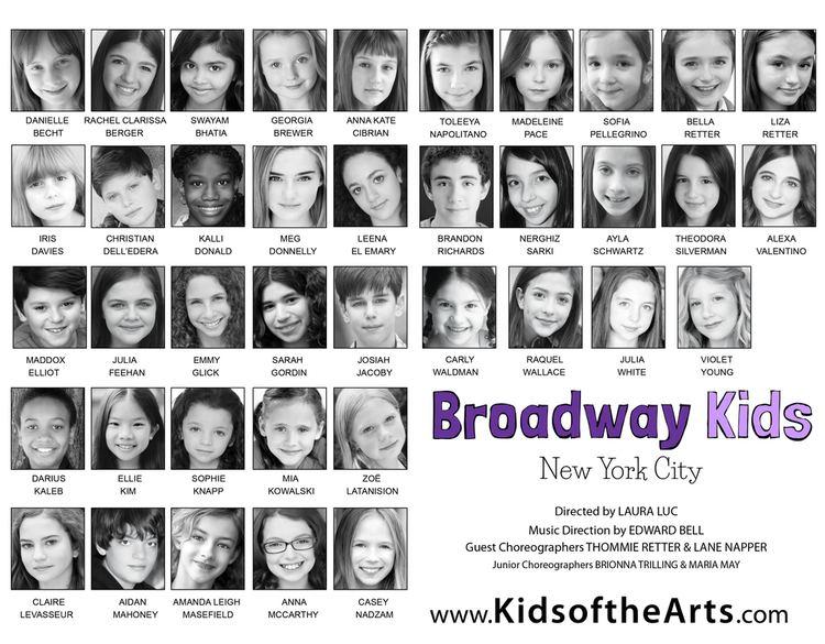 The Broadway Kids Broadway Kids NYC Kids of the Arts